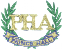 Prince Hall PHA Wreath 2 1/4 Inch Model # 361160