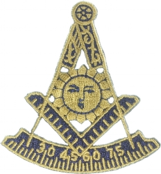 Past Master Patch 2 7/8 Inch