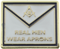 Real Men Wear Aprons Pin Model # 361181