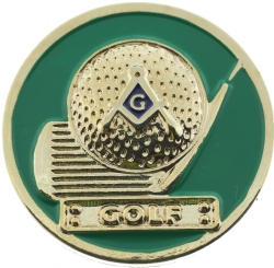Masonic Golf Pin Model # 361187