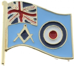 UK RAF Masonic Pin Model # 361194