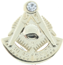 Jeweled Past Master Pin Model # 361209