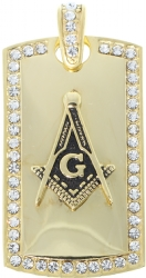 Jeweled Masonic Pendant Model # 361235