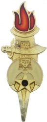 Shriner Torch Pin Model # 361351