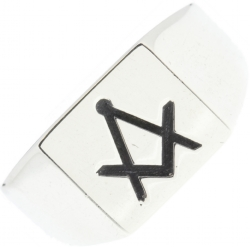 Box Top Signet Ring