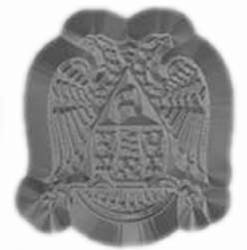 Scottish Rite Metal Stamp