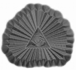 All Seeing Eye Metal Stamp