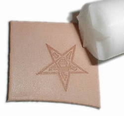 Eastern Star Leather Stamp Model # 361488