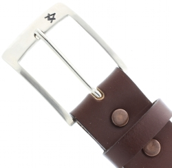Brown Leather Masonic Belt Model # 361490