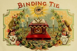 Binding Tie Postcard Model # 361499