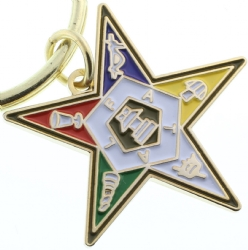 Eastern Star Keychain Model # 361517