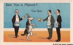 Are you a Mason? The Test Postcard Model # 361600