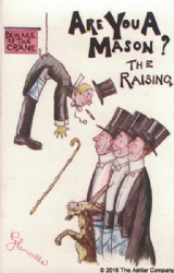 Are you a Mason? The Raising Postcard Model # 361622