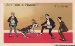 Are you a Mason? The Grip Postcard Model # 361631