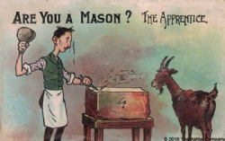Are you a Mason? The Apprentice Postcard Model # 361633
