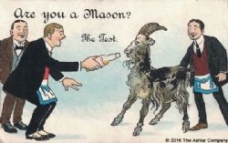 Are you a Mason? The Test Postcard Model # 361643