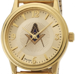 Bulova Masonic Watch Model # 361794