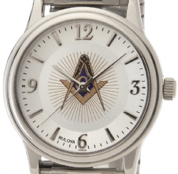Bulova Masonic Watch Model # 361797