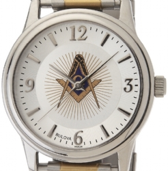 Bulova Masonic Watch Model # 361798