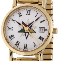 Premium Eastern Star Watch Model # 361815