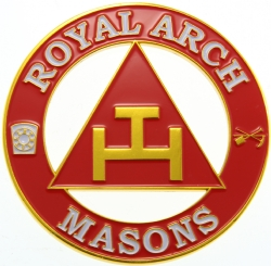 Royal Arch Cut Out Auto Emblem