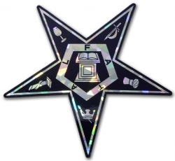 Eastern Star Reflective Decal Model # 361896