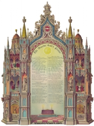 The Masons Prayer Print Model # 361902