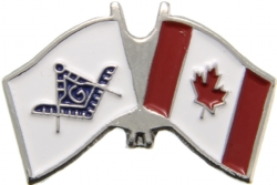 Canadian Mason Flag Pin Model # 361924