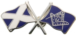 Scottish Mason Flag Pin Model # 361926