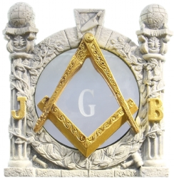 Masonic Pillars Desk Ornament Model # 361966