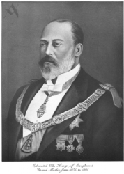 King Edward VII Portrait Model # 361990