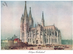 Cologne Cathedral Print Model # 362014