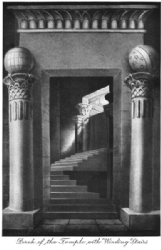 Porch of the Temple with Winding Stairs Print Model # 362065