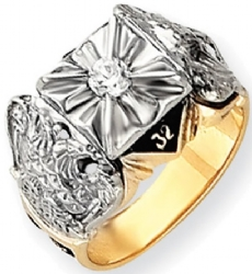 Diamond Scottish Rite Ring