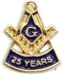 25 Year Membership Pin Model # 362175