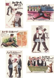 Are you a Mason? 6 Postcard Set Model # 362178