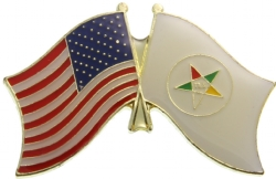 OES Flag Pin Model # 362184