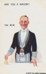Are you a Mason? The WM Postcard Model # 362191