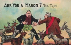 Are you a mason? The Test Postcard Model # 362197