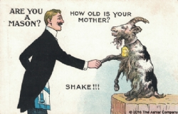 Are you a Mason? How old is your Mother Postcard Model # 362277
