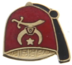 10k Gold Shriners Fez Pin Model # 362280