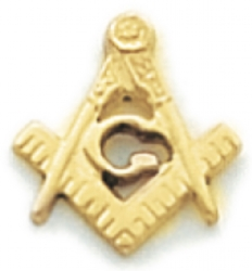Square & Compass Lapel Pin Model # 362341