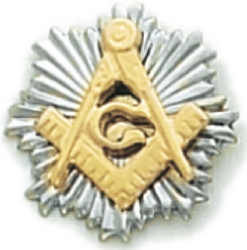 Square & Compass Lapel Pin Model # 362350