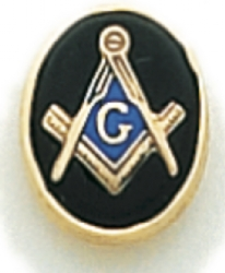 Square & Compass Lapel Pin Model # 362355