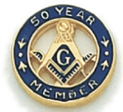 50 Year Membership Lapel Pin Model # 362358