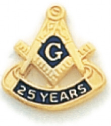 25 Year Membership Lapel Pin Model # 362359