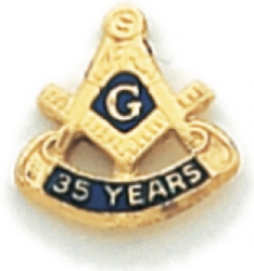 35 Year Membership Lapel Pin Model # 362360