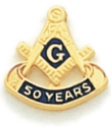 50 Year Membership Lapel Pin Model # 362361