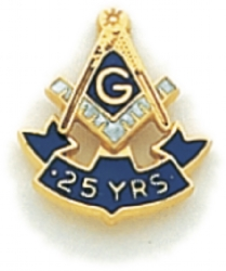 25 Year Membership Lapel Pin Model # 362362