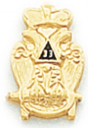 Scottish Rite Lapel Pin Model # 362369